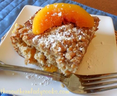 Peach Crumb Cake - TSLC - Copy