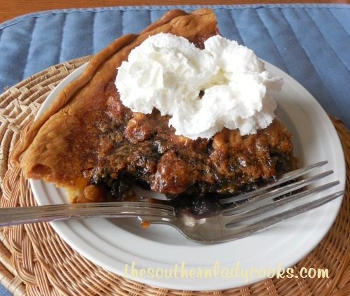 Walnut Raisin Pie - Copy