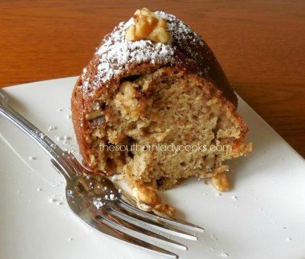 Banana Bundt Cake - The Southern Lady Cooks
