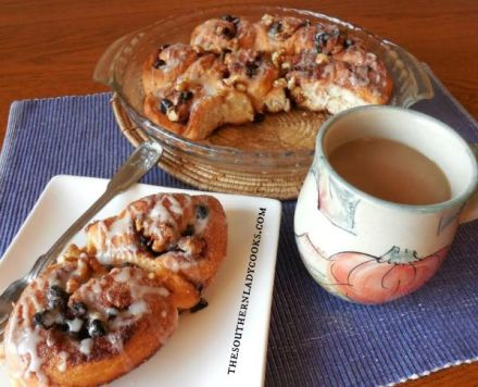 Biscuit Cinnamon Rolls The Southern Lady Cooks