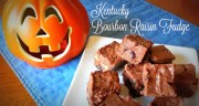 KENTUCKY BOURBON RAISIN FUDGE