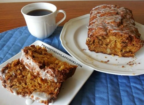 Sweet Potato Bread-The Southern Lady Cooks