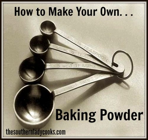 How to Make Your Own Baking Powder