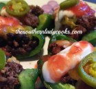 GREEN PEPPER NACHOS- LIGHT RECIPE