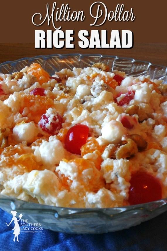 Million Dollar Rice Salad