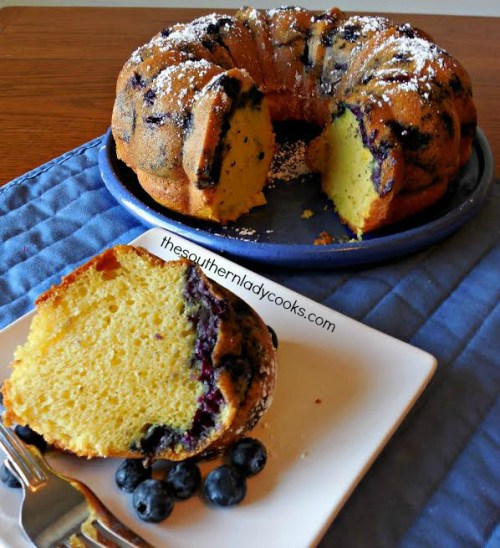 lemon blueberry bundt cake recipe