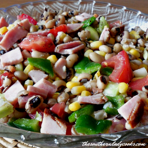 Black-Eyed Pea Salad - The Southern Lady Cooks