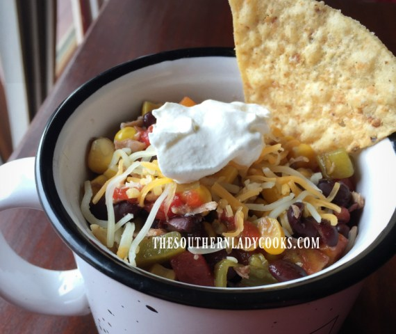 Chicken Tortilla Soup-The Southern Lady Cooks