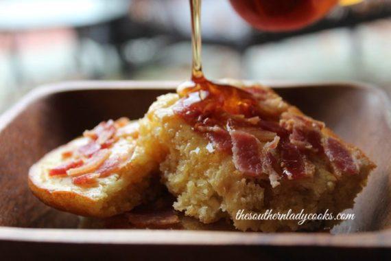 Maple Pecan Pancake Bake