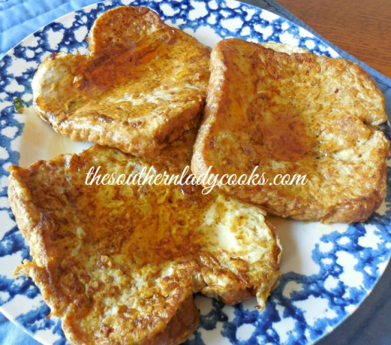Pumpkin French Toast The Southern Lady Cooks