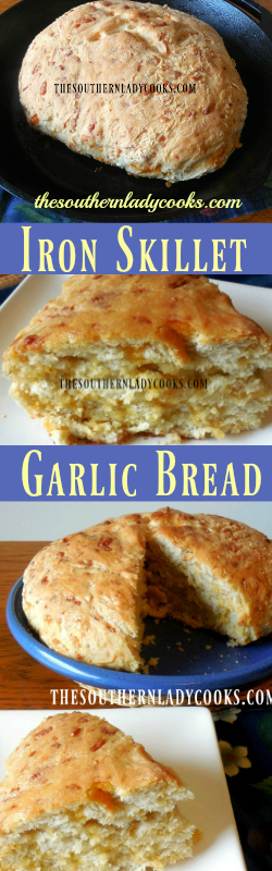 the-southern-lady-cooks-iron-skillet-garlic-bread