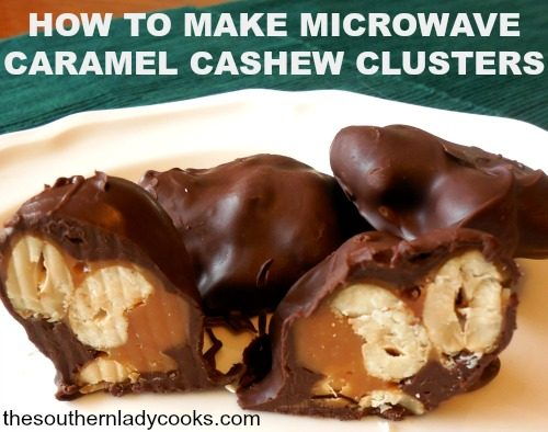 how-to-make-microwave-caramel-cashew-clusters