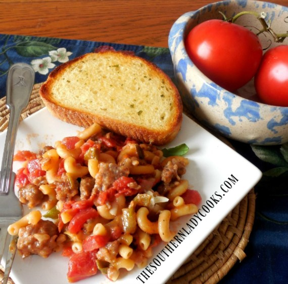 Italian Sausage Skillet Meal