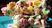 NO BAKE LUCKY CHARMS TREATS