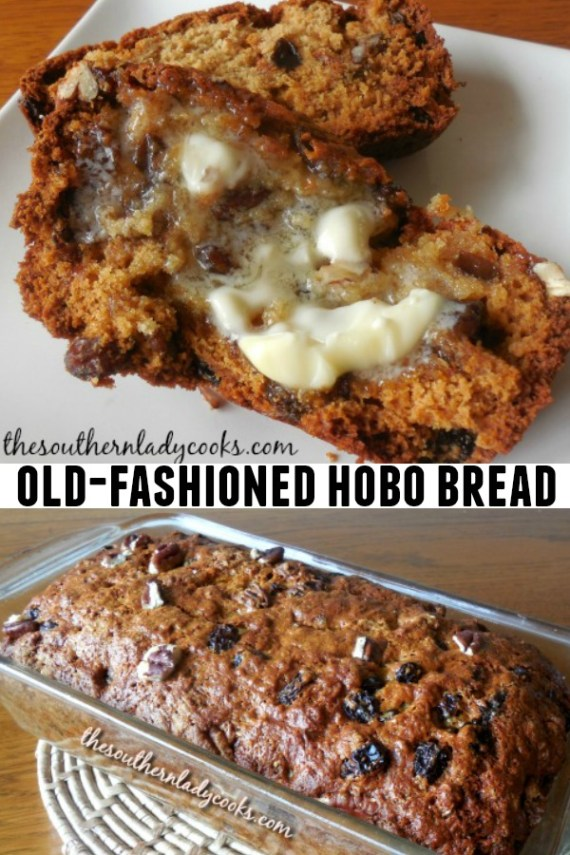 Old-Fashioned Hobo Bread - The Southern Lady Cooks