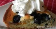 IRON SKILLET CAKE – PEACH, BLUEBERRY