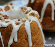 PUMPKIN SPICE MINI BUNDT CAKES