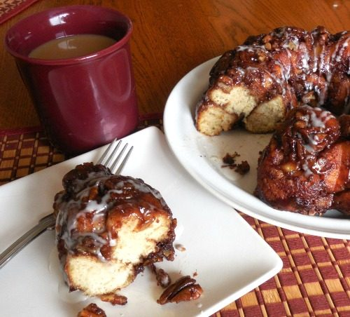 Easy Banana Cinnamon Monkey Bread
