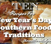 NEW YEAR'S DAY FOOD RECIPES