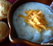 CROCK POT CREAMY POTATO SOUP