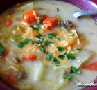 HAMBURGER CABBAGE CHOWDER