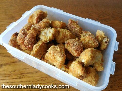 Cornmeal Chicken Nuggets