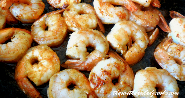 CAJUN SHRIMP – EASY RECIPE