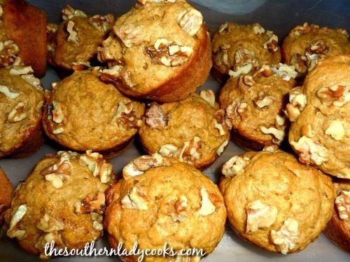 Pumpkin Banana Muffins