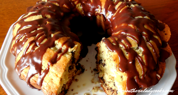 CHOCOLATE COCONUT COFFEE CAKE — The Southern Lady Cooks