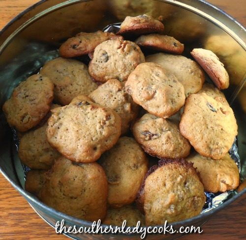 Raisin Bran Cookies - The Southern Lady Cooks