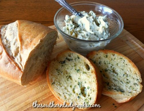 Garlic Butter Spread - The Southern Lady Cooks