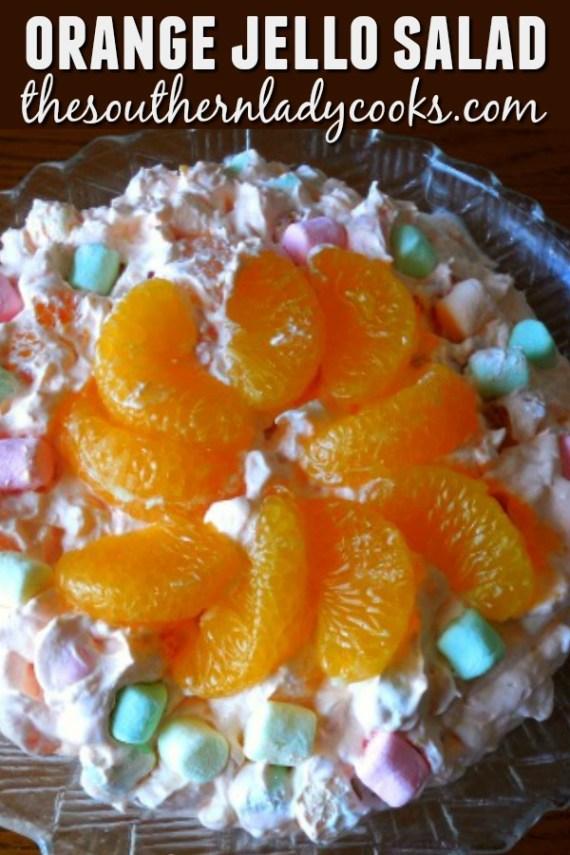 Orange Jello Salad