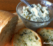 GARLIC BUTTER SPREAD – 4 Ingredients