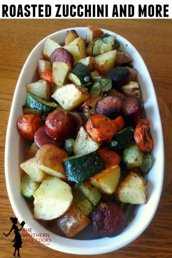 Roasted Zucchini and More