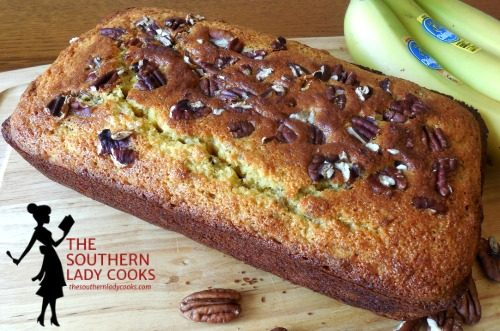 Sweet Banana Nut Cornbread