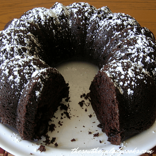 Chocolate Mayonnaise Cake - The Southern Lady Cooks
