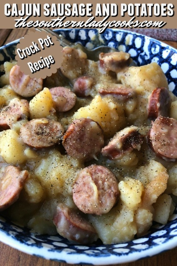 Cajun Sausage and Potatoes
