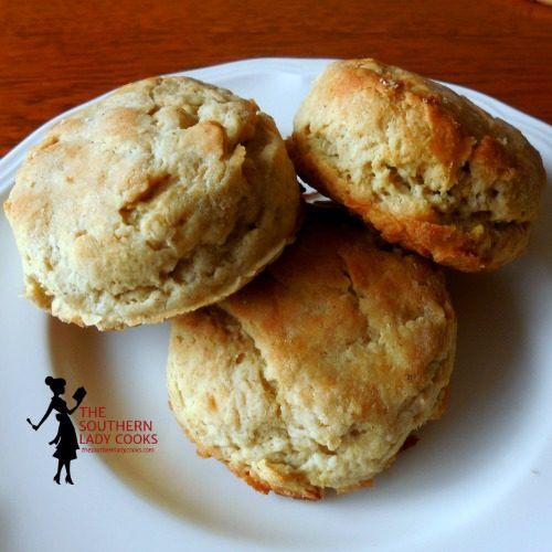 Thyme Biscuits - 4 Ingredients