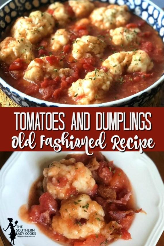 Tomatoes and Dumplings