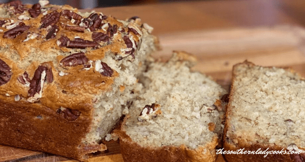 Applesauce Banana Bread The Southern Lady Cooks