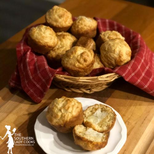Mozzarella Cheese Muffins