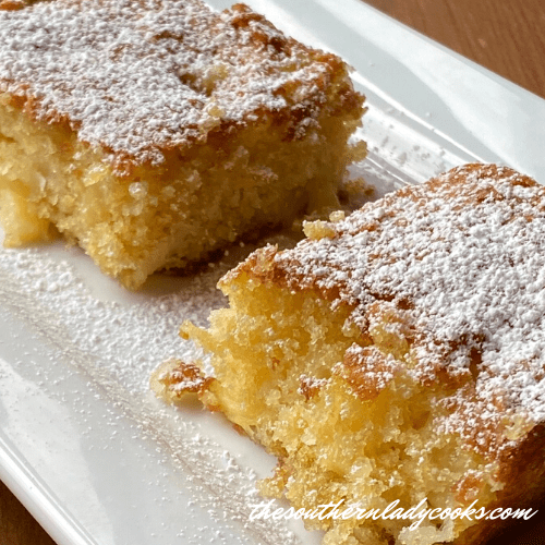 Pineapple Coconut Bars - The Southern Lady Cooks