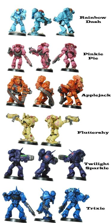My Little Pony And Warhammer 40 000 Why Do These Two Fandoms Mix