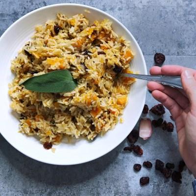 butternut squash rice recipe