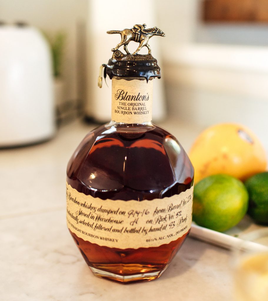 Blanton's Bourbon Recipes