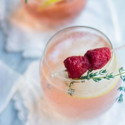 Rosé Spritzer Cocktail