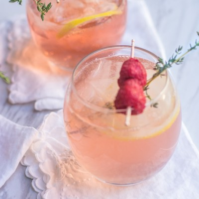 Rosé Spritzer Cocktail