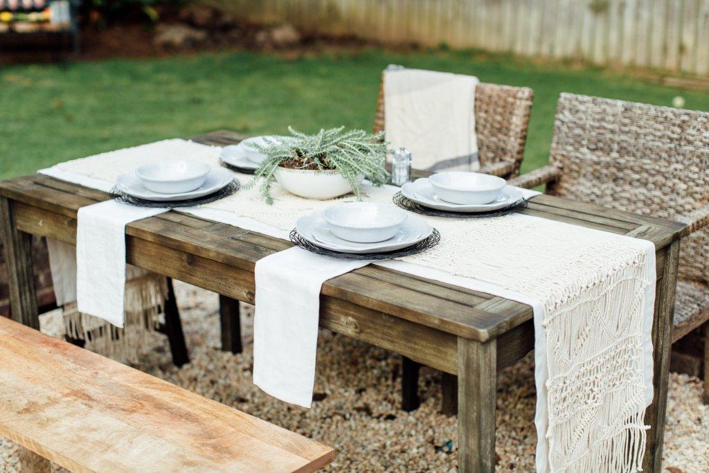 Surprising Outdoor Entertaining With Relish Melamine Dinnerware From Short Links Chair Design For Home Short Linksinfo