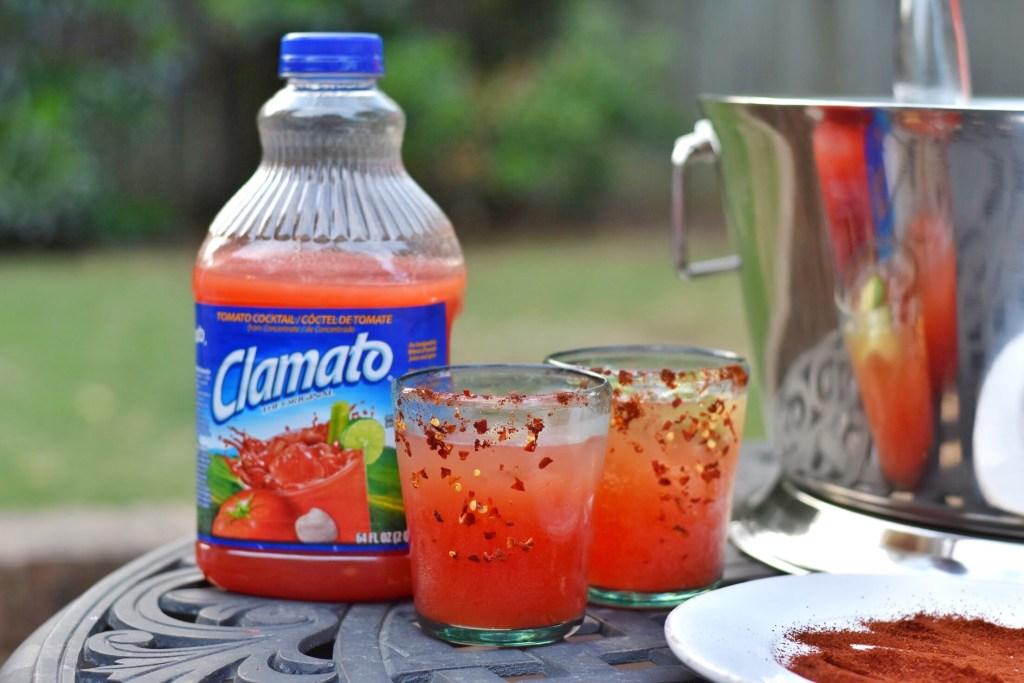 Michelada recipe using Clamato juice