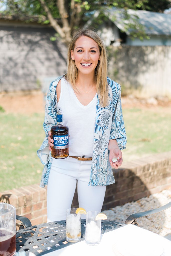 Summer bourbon cocktails with Coopers Craft bourbon